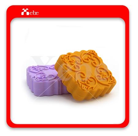 月餅造型隨身碟,客製化隨身碟,中秋節禮物,集比客製化隨身碟