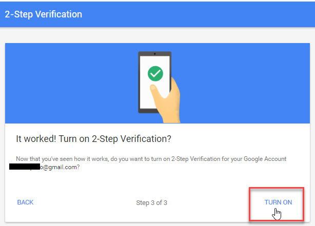 2 Step Verification