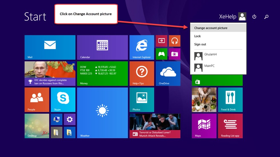 Create windows 8.1 Local Account