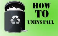 How to Uninstall Program