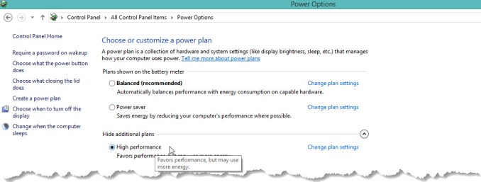 Maximum Performance Power Plan-Make Your Computer Run Faster
