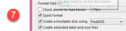 create bootable USB using software Step 7.