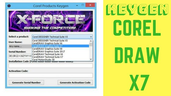 How to Get Corel Draw X7 Keygen