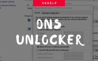 DNS Unlocker – Virus Removal Guideline