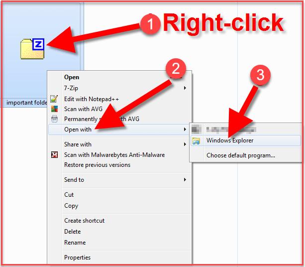 How To Unzip Files On Windows 7 -1