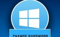 How to Change Password Windows 10