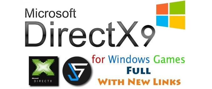 directx 9 download windows 10