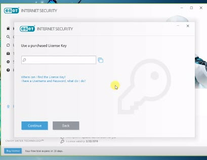eset nod32 antivirus 10 license key 2019