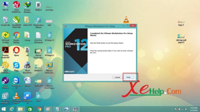 How To Install VMware Workstation 12