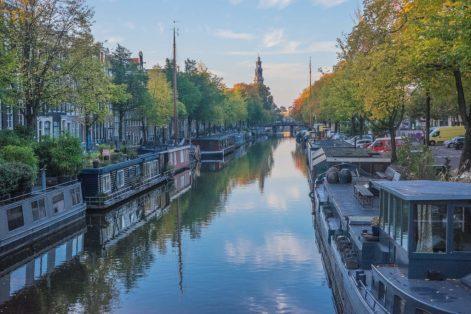 Amsterdam im Herbst