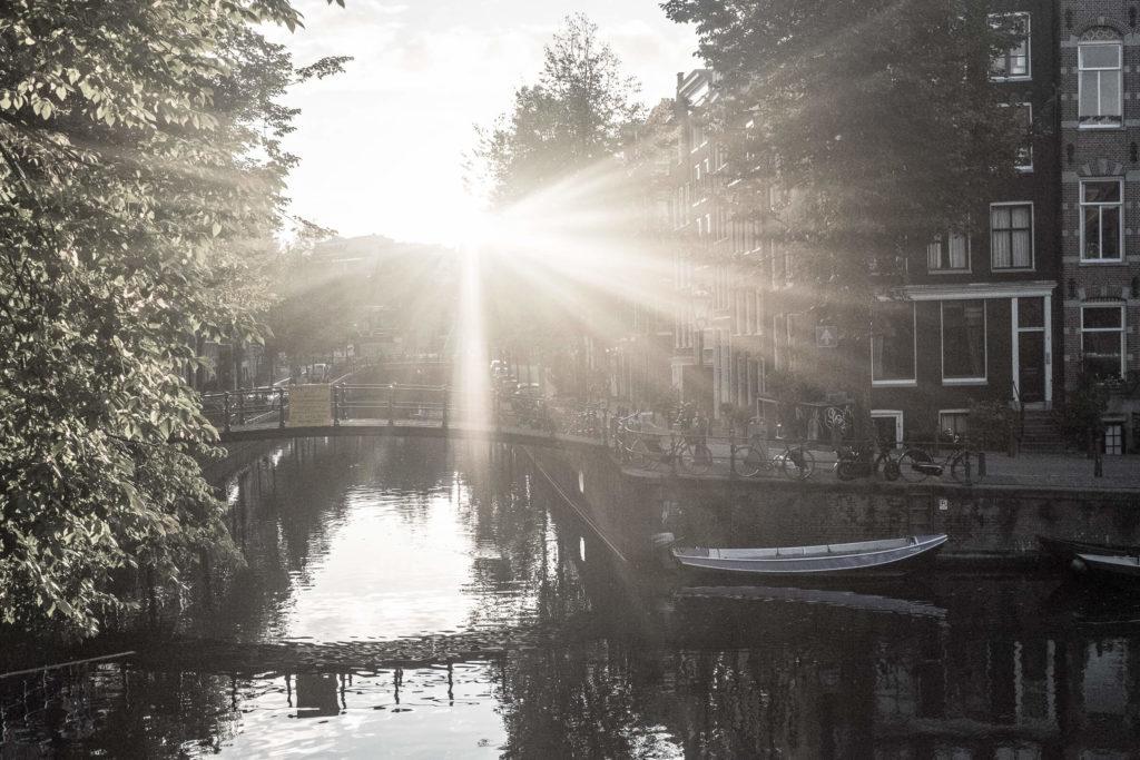 Sonnenschein in Amsterdam