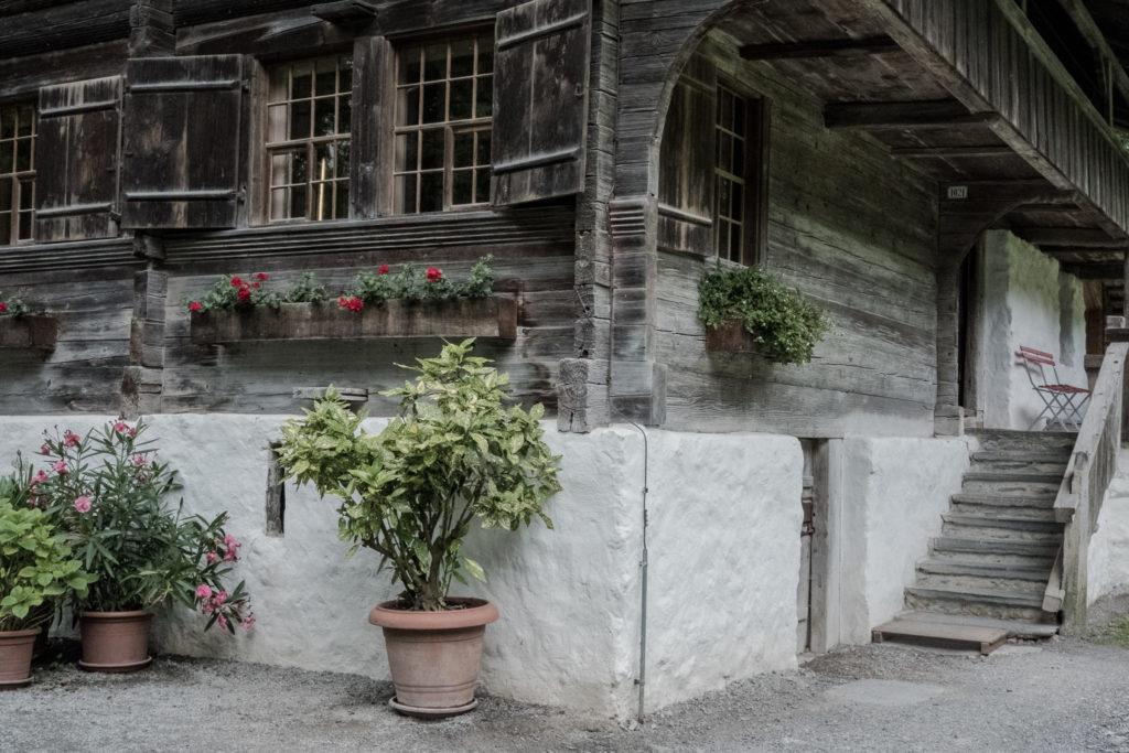 Renoviertes Bauernhaus Ballenberg