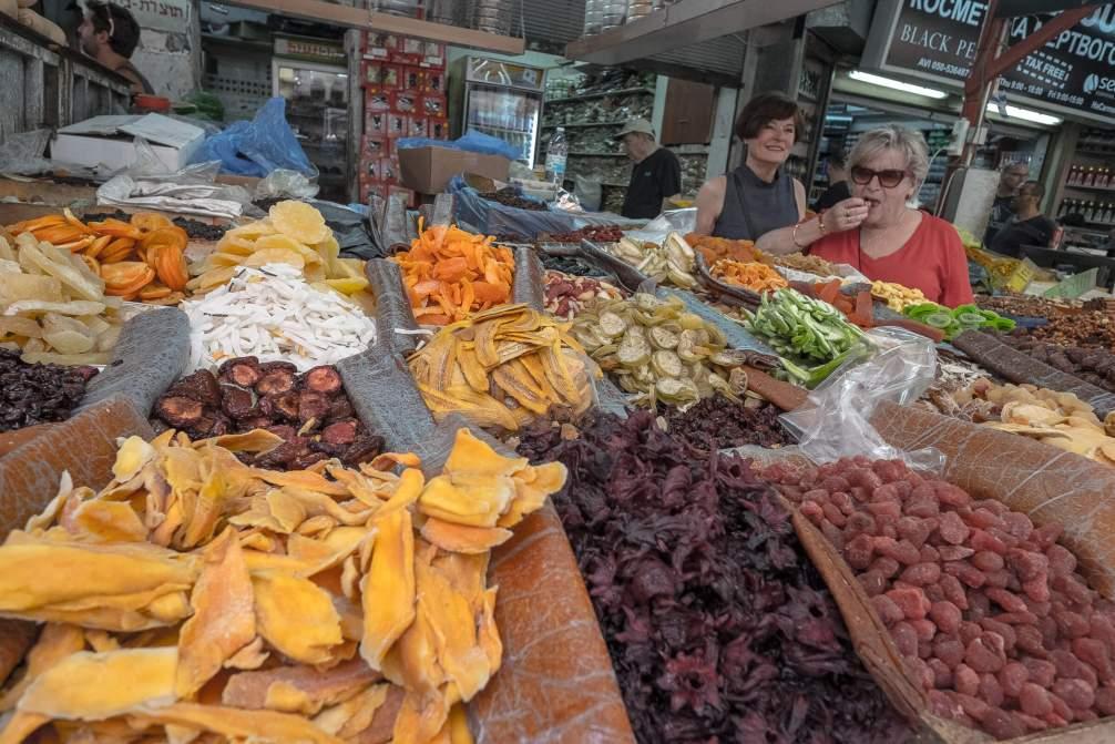 Fruits Carmel Market Tel-Aviv