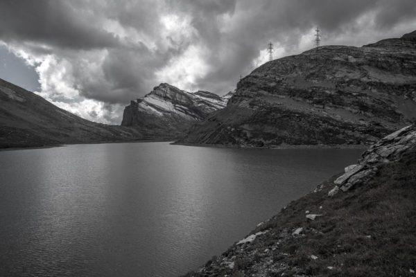 Leukerbad: Der Daubensee auf dem Gemmipass