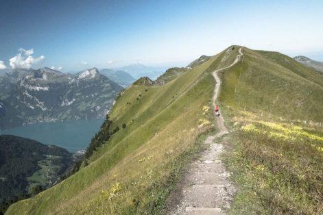 Gratwanderung Stoos: Vom Klingenstock auf den Fronalpstock