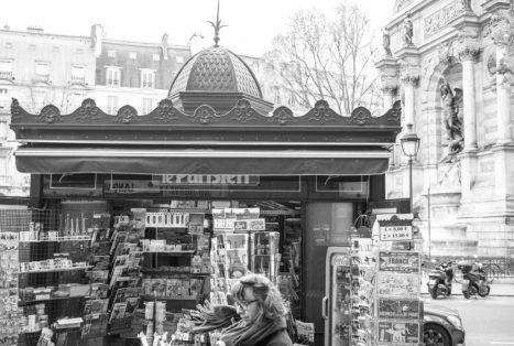 Paris: l'amour court les rues