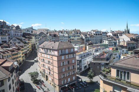 Das historische & moderne Lausanne