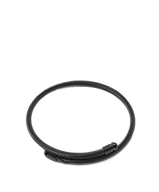 Bracelet en métal – noir