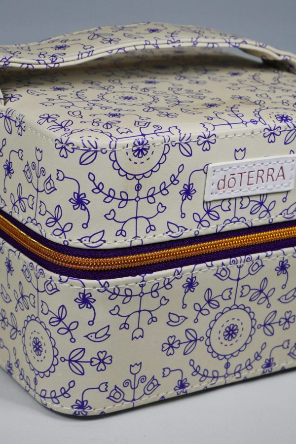 Petit coffret zippé pour 16 flacons avec logo doTERRA®