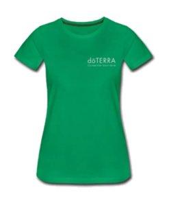 T-Shirt femme avec logo doTERRA