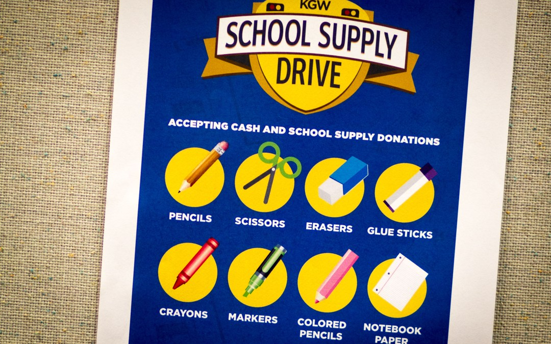 Xenium Participates in 2015 KGW School Supply Drive