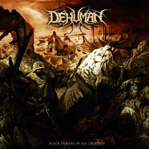"DEHUMAN ""Black Throne of All Creation"" CD [TOX010]"