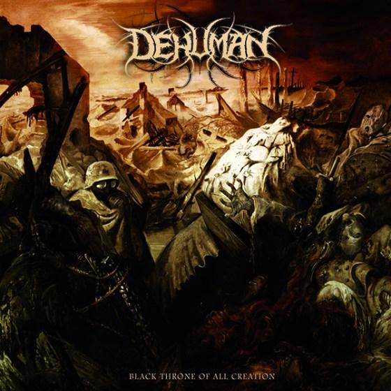 "DEHUMAN ""Black Throne of All Creation"" CD [TOX010]"