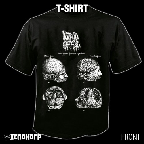 "PUTRID OFFAL ""Pathologists"" T-SHIRT [front]"