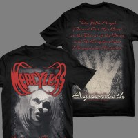 "MERCYLESS ""Coloured Funeral"" T-SHIRT"