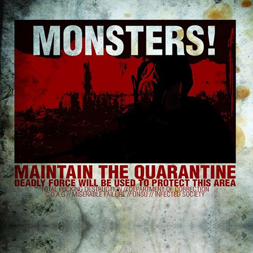 "V/A ""Monsters! Six of a Kind"" Digi-CD"