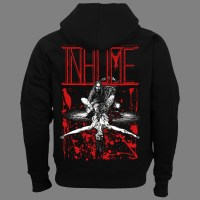 """INHUME """"Exhume: 25 Years of Decomposition"""" HOODED SWEAT SHIRT"""