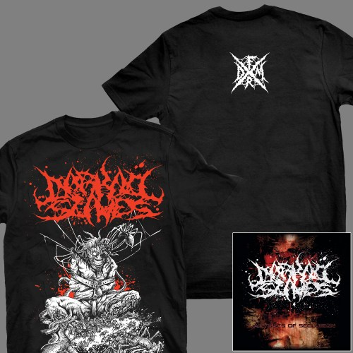 "DARKALL SLAVES ""Abysses of Seclusion"" T-SHIRT / GIRLY"