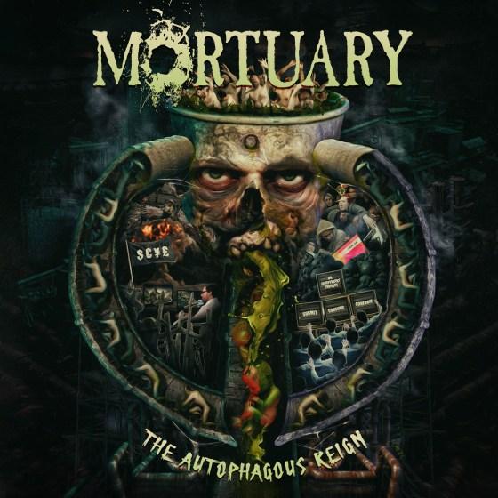"""MORTUARY """"The Autophagous Reign"""""""