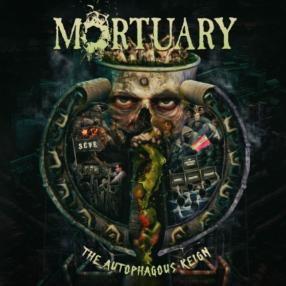 "MORTUARY ""The Autophagous Reign"""