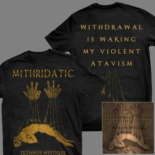 "MITHRIATIC ""Tétanos Mystique"" T-SHIRT + CD"