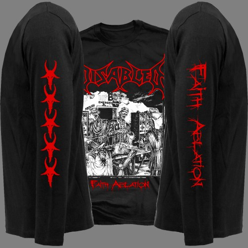 "DISABLED ""Faith Ablation"" LONG SLEEVES T-SHIRT"