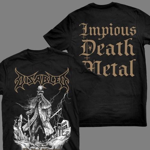 """DISABLED """"The Final Exhumation"""" T-SHIRT"""