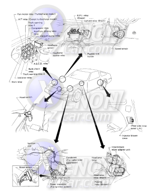 1990 300zx Fuse Panel Diagram | Wiring Library
