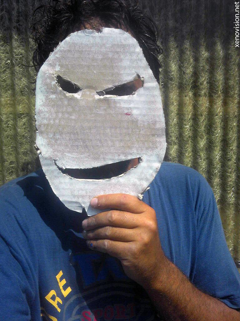 Painted Masks © xenovision@xenovision.net