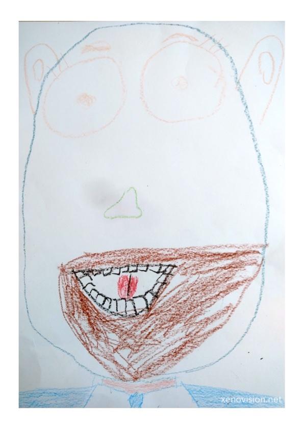 SHARED DRAWING - Faces I © xenovision@xenovision.net