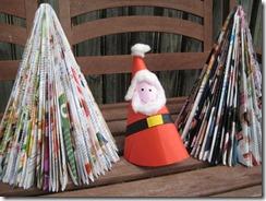 Árbol de Navidad Reciclable y económico.