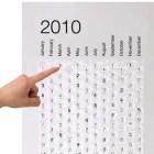 Calendario de Burbujas.