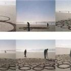 Arte en arena.