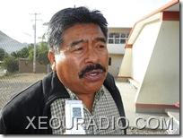 Osvaldo Rodrigo Lagos Pimentel, director de la escuela primaria, Margarita Maza de Juárez