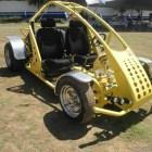 Realizan en Huajuapan competencia de autos modificados