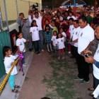 San Marcos Arteaga pide liberar recursos para culminar unidad deportiva