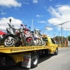Realizan operativo contra motociclistas