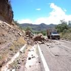 Exigen a SCT atienda derrumbe en carretera Huajuapan – Tehuacán