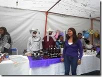 Inés Peñaloza Lugo, presidenta de la organizacion sabores y colores de la Mixeca