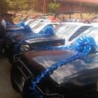Autoridades entregan patrullas y apoyos a Agencias